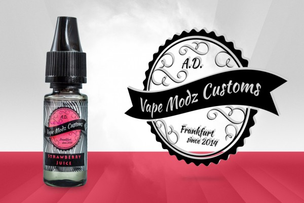 Strawberry Juice by Vape Modz Customs