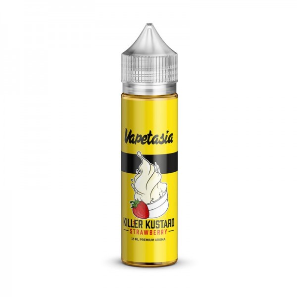 Vapetasia - Killer Kustard Strawberry - 15ml Aroma